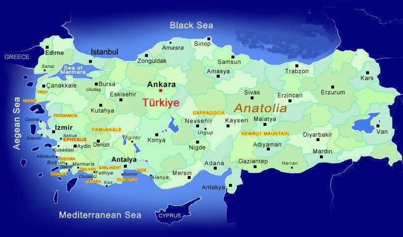 Where to go in Turkey Turkey Tour Specialist