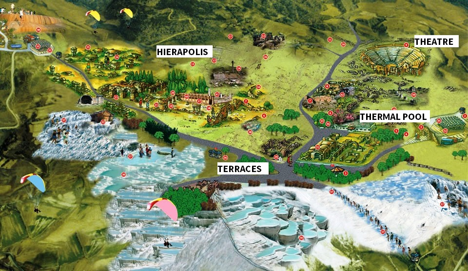 A Day Trip To Pamukkale And Hierapolis Turkey Tour