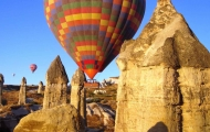 Enjoy hot air ballon ride in Cappadocia