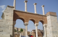 Saint John's Basilica in Ephesus