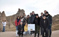 Amazing group in trip of Cappadocia
