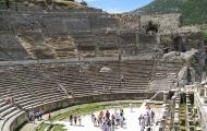 Gorgeus view of Anciet Theatre in Ephesus