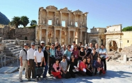 Amazing tour in Celsus Library