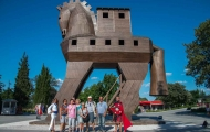 Ancient Trojan Horse in Canakkale