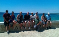Wonderful group in Anzac Cove