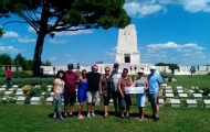 Wonderful trip in memorials of Anzacs in Anzac Cove