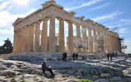 Visit ancient Parthenon in Acropolis of Greece