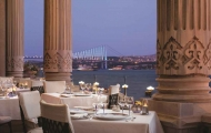 Wonderful Bosphorus view of Ciragan Palace