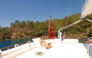 Take a time to rest in Marmaris gulet cruise
