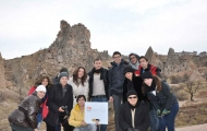 Marvelous group in Cappadocia trip.