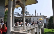 Inside view of Topkapi Palace