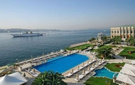 Magnificent view from Ciragan Palace