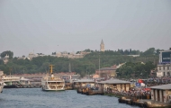 View of Seraglio Point from Bosphorus