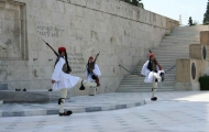 Impreial guards in Greece