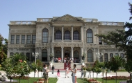 Entrance of Dolmabahce Palace in Istanbul
