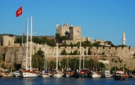 Wonderful view of Bodrum Castle