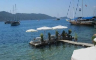 Lunch time in Bodrum
